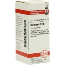 CANTHARIS D 30 Globuli 10 g