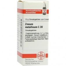 ZINCUM METALLICUM C 30 Globuli 10 g