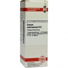 ZINCUM VALERIANICUM D 8 Dilution 20 ml