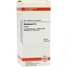 ABROTANUM D 6 Tabletten 200 St