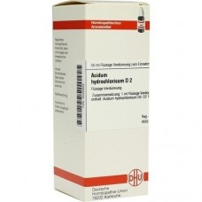 ACIDUM HYDROCHLORICUM D 2 Dilution 50 ml