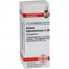 ACIDUM HYDROCHLORICUM C 30 Globuli 10 g