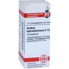 ACIDUM HYDROCHLORICUM D 12 Globuli 10 g