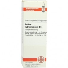 ACIDUM HYDROCYANICUM D 6 Dilution 20 ml
