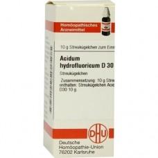 ACIDUM HYDROFLUORICUM D 30 Globuli 10 g