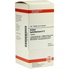 ACIDUM HYDROFLUORICUM D 12 Tabletten 200 St