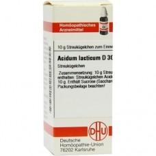 ACIDUM LACTICUM D 30 Globuli 10 g
