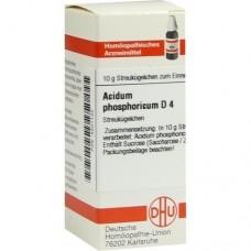 ACIDUM PHOSPHORICUM D 4 Globuli 10 g
