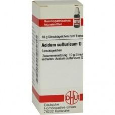 ACIDUM SULFURICUM D 10 Globuli 10 g
