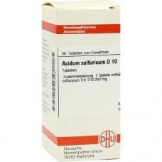 ACIDUM SULFURICUM D 10 Tabletten 80 St