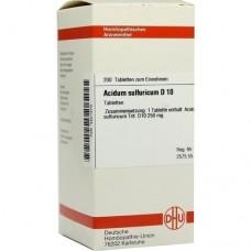 ACIDUM SULFURICUM D 10 Tabletten 200 St