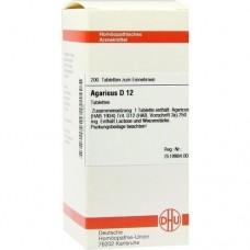 AGARICUS D 12 Tabletten 200 St