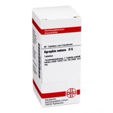 AGRAPHIS NUTANS D 6 Tabletten 80 St