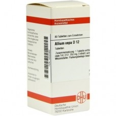 ALLIUM CEPA D 12 Tabletten 80 St