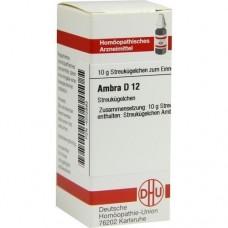 AMBRA D 12 Globuli 10 g