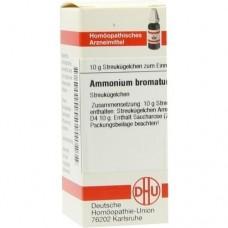 AMMONIUM BROMATUM D 4 Globuli 10 g