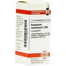 AMMONIUM CARBONICUM C 200 Globuli 10 g
