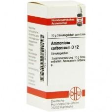 AMMONIUM CARBONICUM D 12 Globuli 10 g