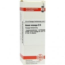 AMMI VISNAGA D 6 Dilution 20 ml