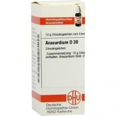 ANACARDIUM D 30 Globuli 10 g