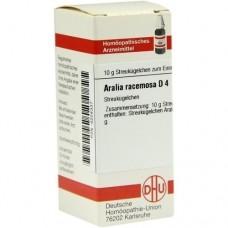 ARALIA RACEMOSA D 4 Globuli 10 g