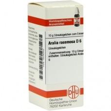 ARALIA RACEMOSA D 6 Globuli 10 g