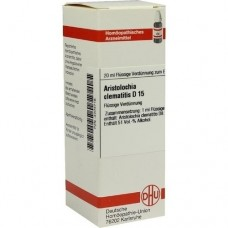 ARISTOLOCHIA CLEMATITIS D 15 Dilution 20 ml