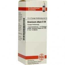 ARSENICUM ALBUM D 20 Dilution 20 ml
