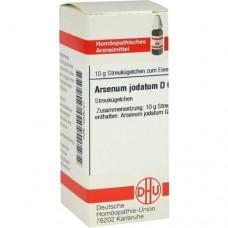 ARSENUM JODATUM D 6 Globuli 10 g