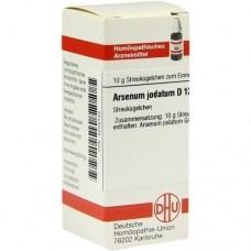 ARSENUM JODATUM D 12 Globuli 10 g