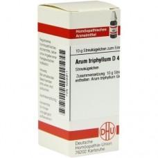 ARUM TRIPHYLLUM D 4 Globuli 10 g