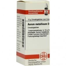 AURUM METALLICUM D 200 Globuli 10 g