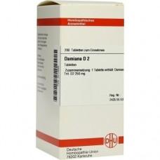 DAMIANA D 2 Tabletten 200 St