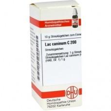 LAC CANINUM C 200 Globuli 10 g