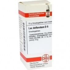 LAC DEFLORATUM D 6 Globuli 10 g