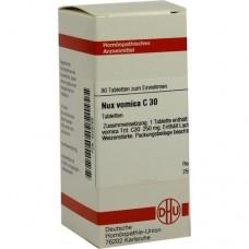 NUX VOMICA C 30 Tabletten 80 St