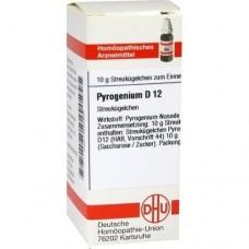 PYROGENIUM D 12 Globuli 10 g