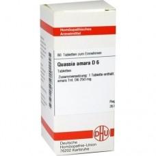 QUASSIA D 6 Tabletten 80 St