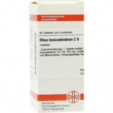 RHUS TOXICODENDRON C 6 Tabletten 80 St