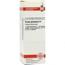 PANAX GINSENG D 4 Dilution 20 ml
