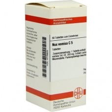 NUX VOMICA C 5 Tabletten 80 St