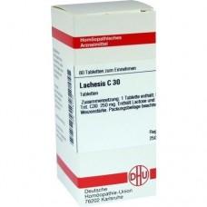 LACHESIS C 30 Tabletten 80 St