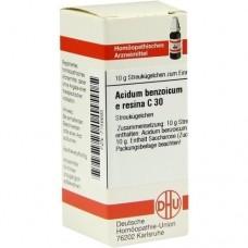 ACIDUM BENZOICUM E Resina C 30 Globuli 10 g