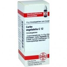 CARBO VEGETABILIS C 12 Globuli 10 g