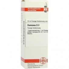 DAMIANA D 3 Dilution 20 ml