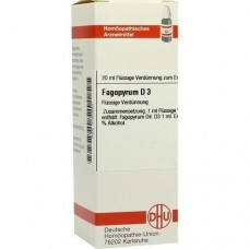 FAGOPYRUM D 3 Dilution 20 ml