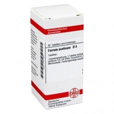 FERRUM ACETICUM D 4 Tabletten 80 St