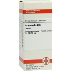 HAMAMELIS C 6 Tabletten 80 St