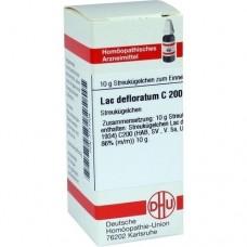 LAC DEFLORATUM C 200 Globuli 10 g