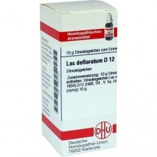 LAC DEFLORATUM D 12 Globuli 10 g